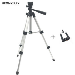 Foldable Camera Head Tripod-Holder Screw Stand Fluid Professional Aluminum 360-Degree