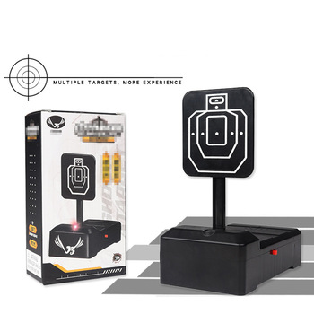 Objetivo de puntuación electrónica, objetivo de puntuación de retorno automático para cuentas de Gel de agua Nerf RoboMaster S1, entrenamiento de tiro