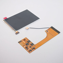 FULL SCREENสำหรับGBC IPS Light Backlight LCDสำหรับGameboyสีคอนโซลความสว่างปรับ