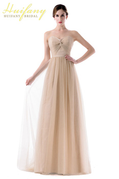 Long Sweetheart Sleeveless Bridesmaid Dress Ruched Wedding Guest Gown A Line Backless Maid of Honor Dreess for Wedding