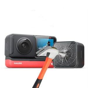 Image 2 - Temperli cam koruyucu kapak kılıf için GoPro git pro Hero5 Hero6 Hero7 Hero 5/6/7 siyah kamera lens LCD ekran koruyucu Film