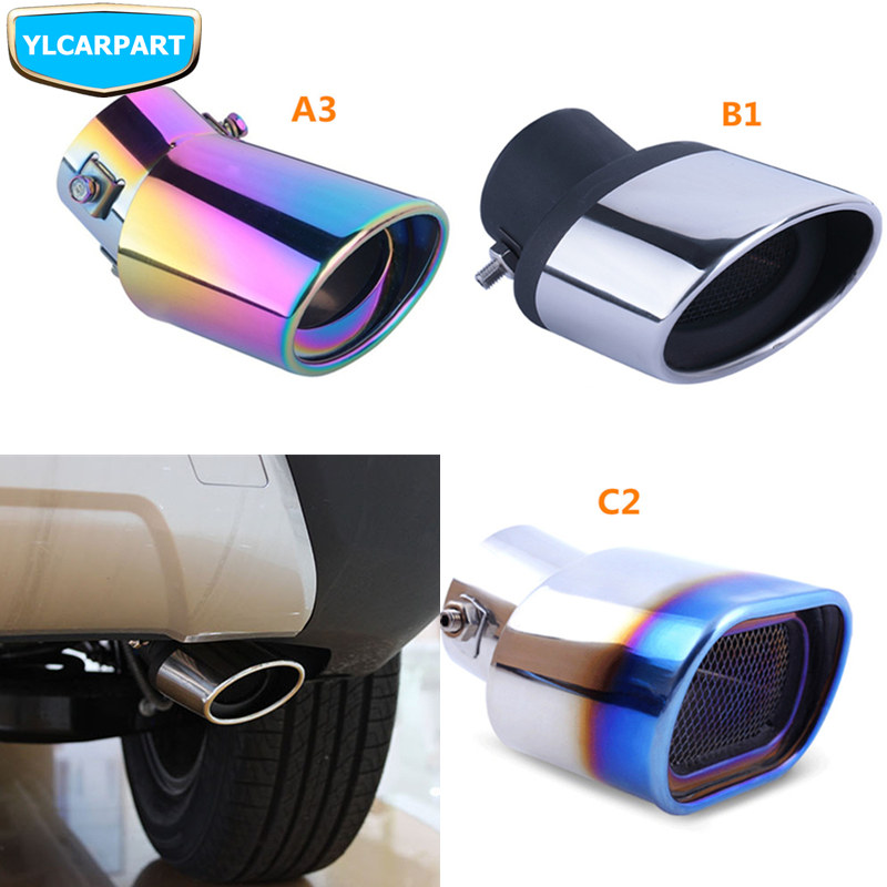 For Geely Emgrand X7 EmgrarandX7 EX7  FC SUV Vision X6 NL4 Car exhuast hose end pipe|Exhaust Headers| |  - title=