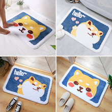 Area Rugs Doormats Washable-Carpets Absorbent Laundry-Room Non-Slip Printed Kitchen Cute