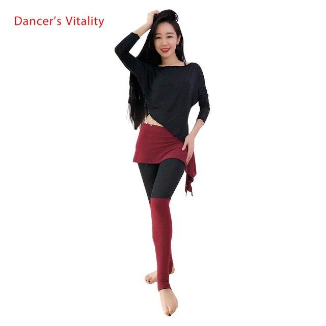 2018 أحدث ملابس رقص البطن الرقص الشرقي + السراويل الملابس للمرأة ملابس الرقص الشرقي 3 ألوان
