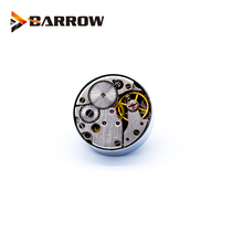 Barrow G1/4 Plug Sealing Lock Special Clock Version Hand Tighten Lock Sealing Water cooling computer fittings History Felling barrow white black silver g1 4 special edition black hand tighten water stop water cooling fitting tds 01