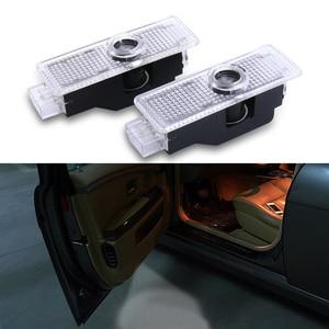 Image 1 - 2pcs Car LED Door Light Decor For BMW Emblem M5 E91 E92 E93 M3 E63 E64 E68 E85 E87 F01 F02 Ghost Shadow Projector Accessories