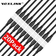 VOXLINK 5V 2.4A USB כבל עבור iPhone x 8 8 בתוספת 8pin USB טעינת כבל נתונים עבור iPhone 7 7 בתוספת 6 6s 6 בתוספת 6sPlus 5S SE iPad אוויר