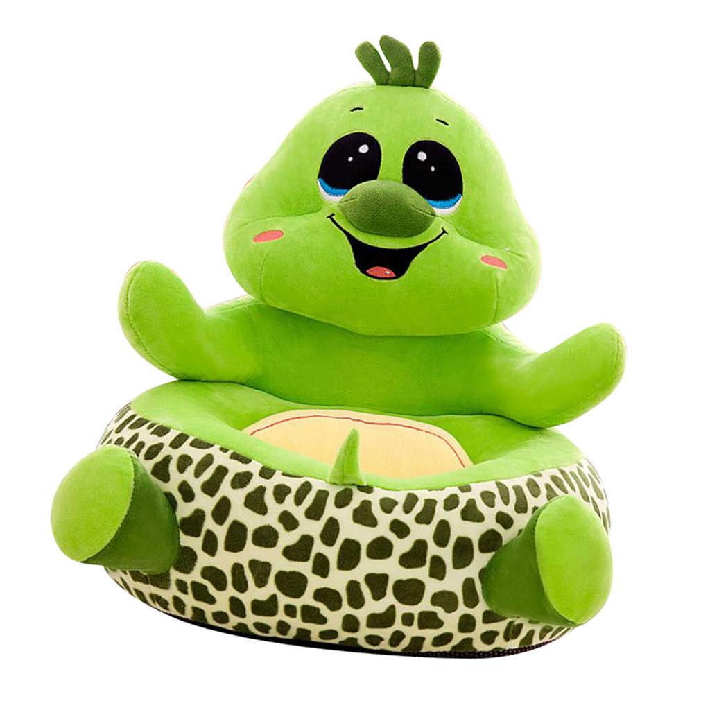 動物の形のぬいぐるみ豆袋の椅子カバー子供のためのソファ家具ソファシートカバーアームチェアベビー豆袋カバークマ