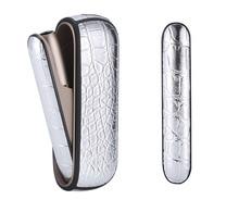 JINXINGCHENG uchwyt na torebkę pokrywy boczne dla iqos 3.0 + etui na cały telefon dla iqos 3 skórzane etui akcesoria dla iqos3 okładka