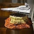 MOC 18916 star Wars Giocattoli Destroyer nave da crociera La Empire Corso Jedha blocchi di Costruzione della Città di Mattoni Modello Del Capretto regali Di Natale 05027