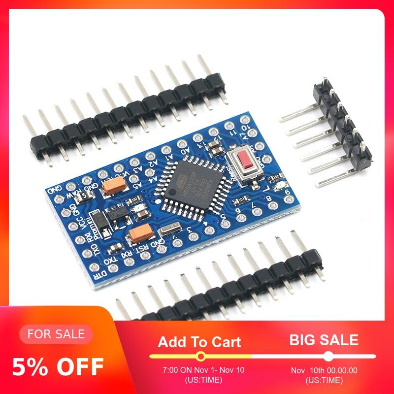 ATMEGA328P Pro Mini 328 Mini ATMEGA328 3.3V/8MHZ 5V/16MHz For Arduino