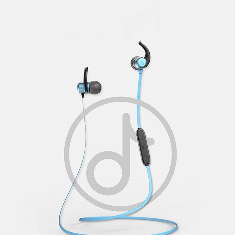 Auriculares inalámbricos deportivos con Bluetooth que funcionan en la oreja cuello Halter para reducción de ruido de succión magnética Android de Apple