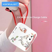 Batterie externe Slim 10000 Mah, joli Power Bank pour téléphone portable, pour iPhone12 Xiaomi Huawei, 10000 mAh