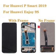 AAA איכות תצוגה עבור Huawei P חכם 2019 LCD תצוגת מסך מגע Digitizer עצרת עבור P חכם 2019 POT LX1 L21 LX3 LCD