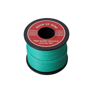 Image 5 - 50 80m Electrical Wire UL3132 24AWG Soft Silicone Insulator Stranded Hook up Wire Tinned Copper 300V 6 Colors for DIY Toys Lamp