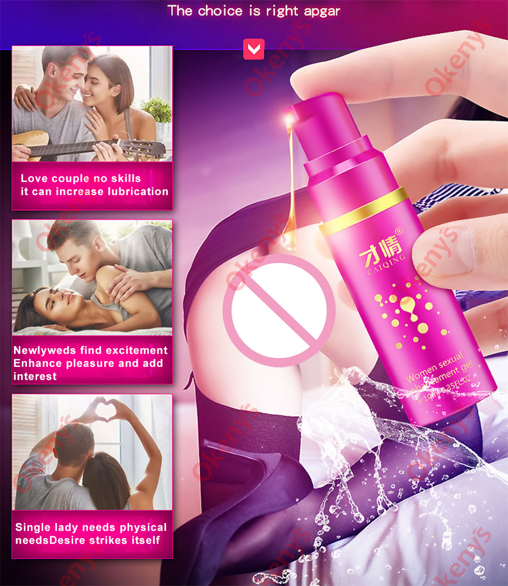 Orgasm Gel Libido Enhancer Sex Spray Stimulant Intense Sex Drop Exciter For Women Vagina Sexual Aphrodisiac Female Orgasmic Gel
