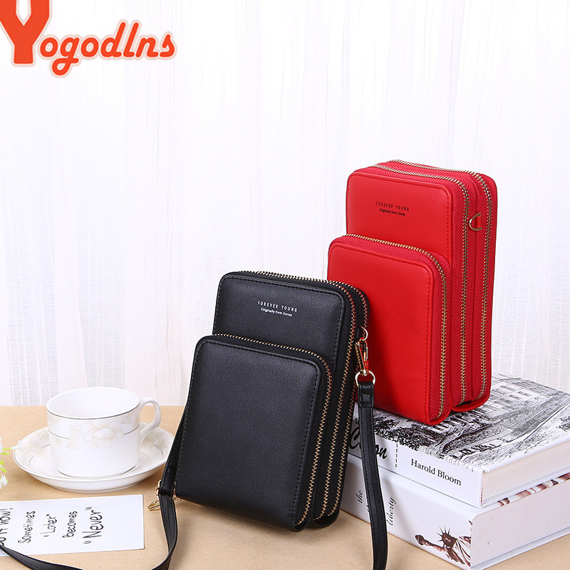 Yogodlns Crossbody Cell Phone Shoulder Bag Cellphone Bag Fashion Daily Use Card Holder Mini Summer Shoulder Bag for Women Wallet 1