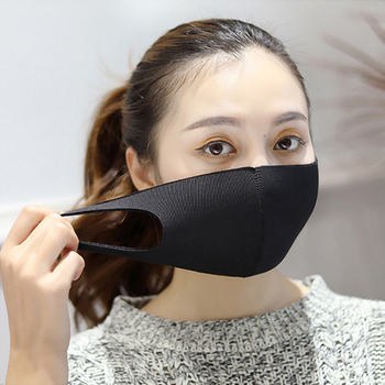 Anti Dust Mouth Mask Anti-haze Anti-fog PM2.5 Sponge Face Cover Outdoor Protection Washable Reusable Adult Kids Child Boy Girl