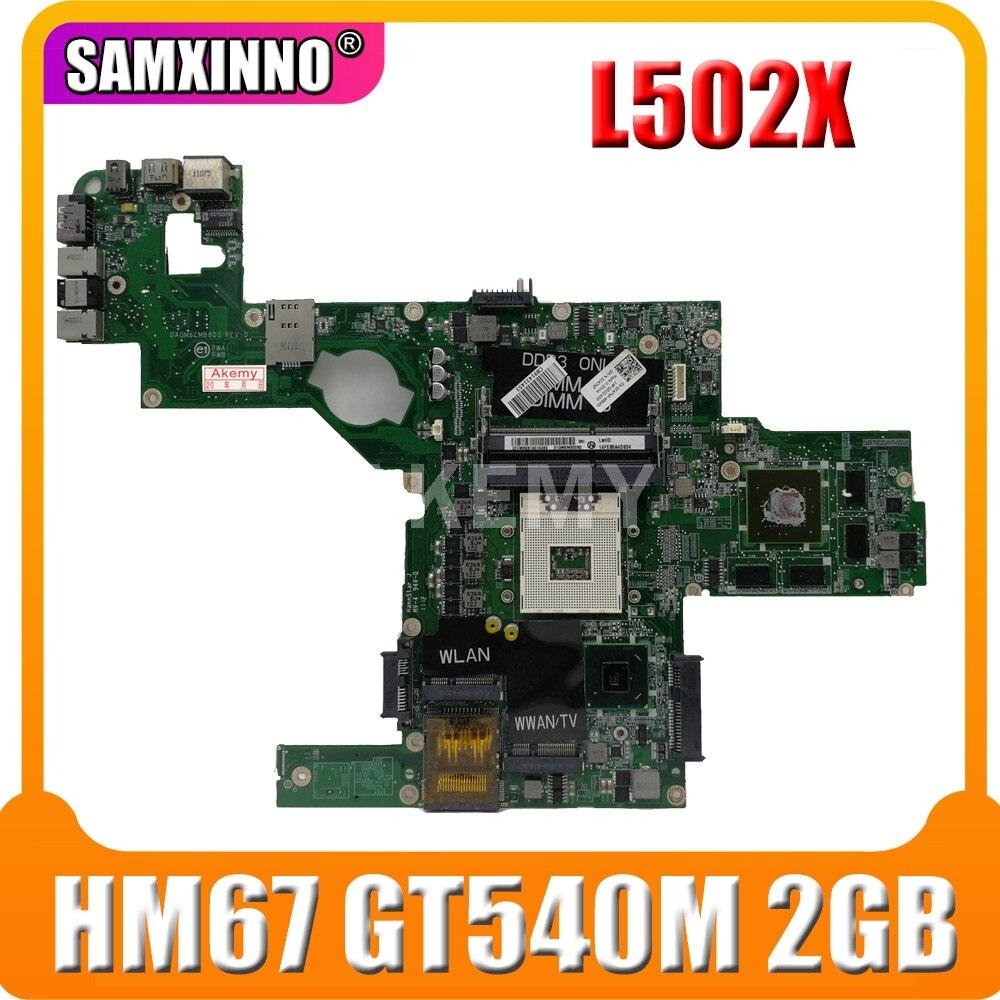 Akemy 714WC 0714WC DAGM6CMB8D0 материнская плата для ноутбука s989 для For DELL XPS L502X основная плата HM67 w/ GT 540M 2GB работает