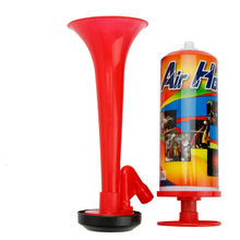 Hand Push Air Fan Horn Cheerleading Sports Meeting Cheer Club Trumpet Kids Children Toy Pump Football Soccer Games Loud Speaker(China)