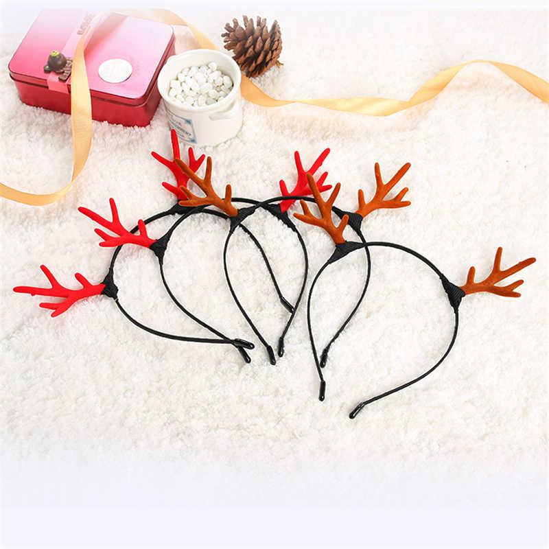 Bt21-bts Pora Mickey Telinga Minnie Telinga Cosplay Muncul Kecil Yang Lucu Rusa Tanduk Hiasan Kepala Natal Tanduk Kepala Band Perlengkapan Pesta