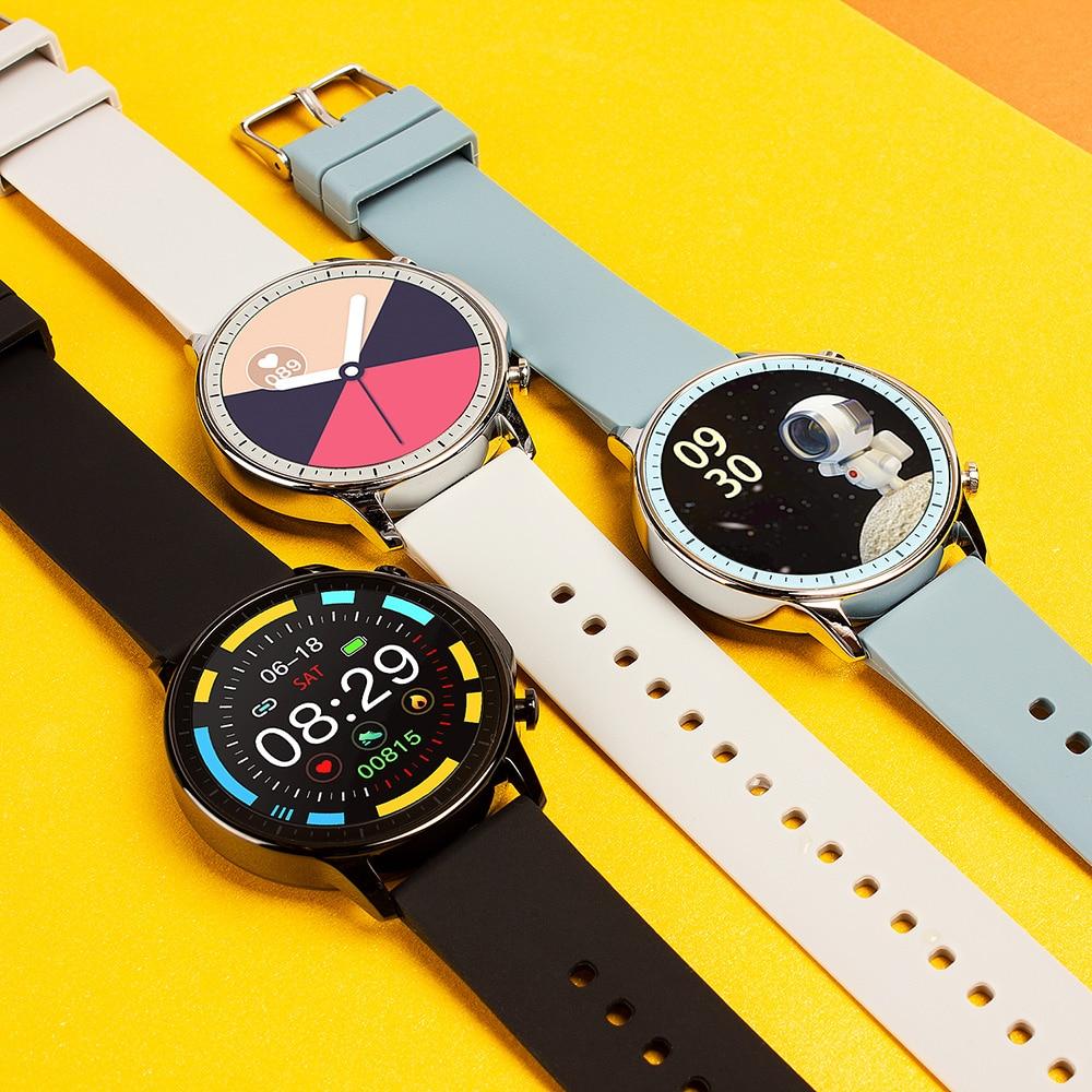 Hefc08039f505425dae8c281d6ed9952cl COLMI V23 Women Smart Watch Full Touch Fitness Tracker IP67 Waterproof Blood Pressure Smart Clock Men Smartwatch