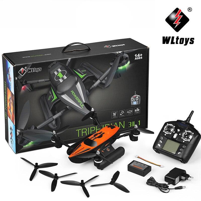 WLtoys Q353 RC Drone Dron RTF Aria Land Sea Modalità Headless Modalità di Una Chiave di Ritorno RC Quadcopter Giocattoli di Controllo Radiofonico drone con la Luce - 5