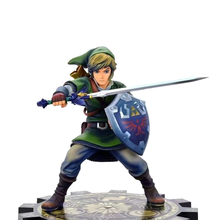 21CM Figma Anime Attack Link Skyward Sword PVC Toy Action Figure Doll Collectible Model PVC Toy Christmas Gift For Children kung fu star bruce lee doll pvc action figure collectible model toy 26cm