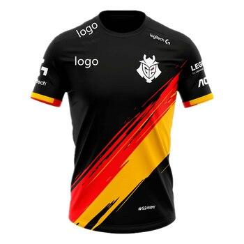 G2 Spain team jersey 2021 new G2 national team jersey G2 e-sports supporter T-shirt League of Legends G2 e-sports uniform shirt