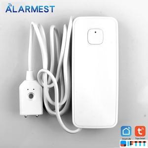 Image 3 - Alarmest Tuya WIFI Water Leak Sensor Protection Alarm Detector control  Tuya Smart Life App Power by Tuya