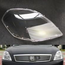 سيارة عدسة المصباح الأمامي لنيسان Teana 2006 2007 مصباح أمامي للسيارة عدسة استبدال غطاء قذيفة السيارات
