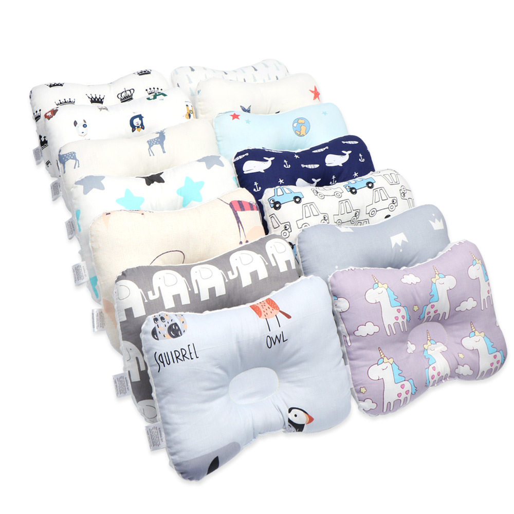 Baby Pillow Infant Nursing Pillow For Newborn Head Protection Cushion Baby Bedding Anti Roll Toddler Sleep Positioner Pillow