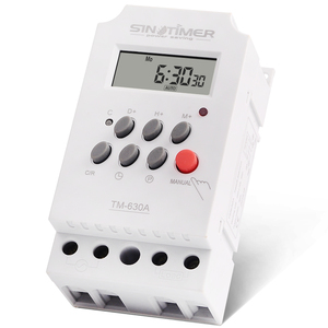 Image 5 - 30amp 220V AC MINI Digital TIMER SWITCH 7 Days Programmable Time Relay FREE SHIPPING