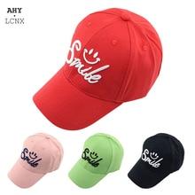 Hat Baseball-Caps Snapback Spring Kids Children Toddler Baby-Boys-Girls New Hip-Hop Smile