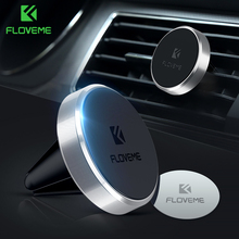 FLOVEME Universal Magnetic Car Phone Holder For Phone In Car Magnet Air Vent Mobile Phone Mount Stand Support Holder For Xiaomi