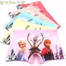 5Pcs/lot Baby Girls Cartoon Frozen Elsa Underpants Kids Underwear Cotton Panties Toddler Children Underwear 1-7years
