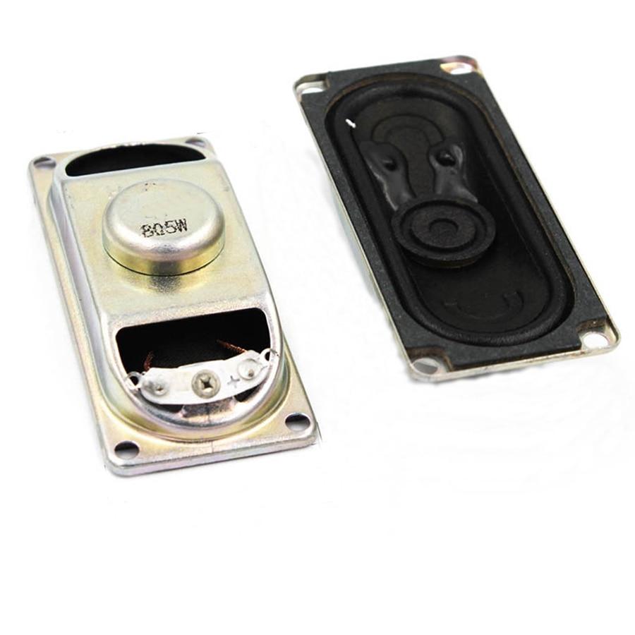 2pcs/lot 5W 8R Horn Speaker LCD Monitor/TV 3070 Loud Speakers 8 Ohm 5 Watt 30*70MM Thickness 17MM Loudspeaker Diy Electronic