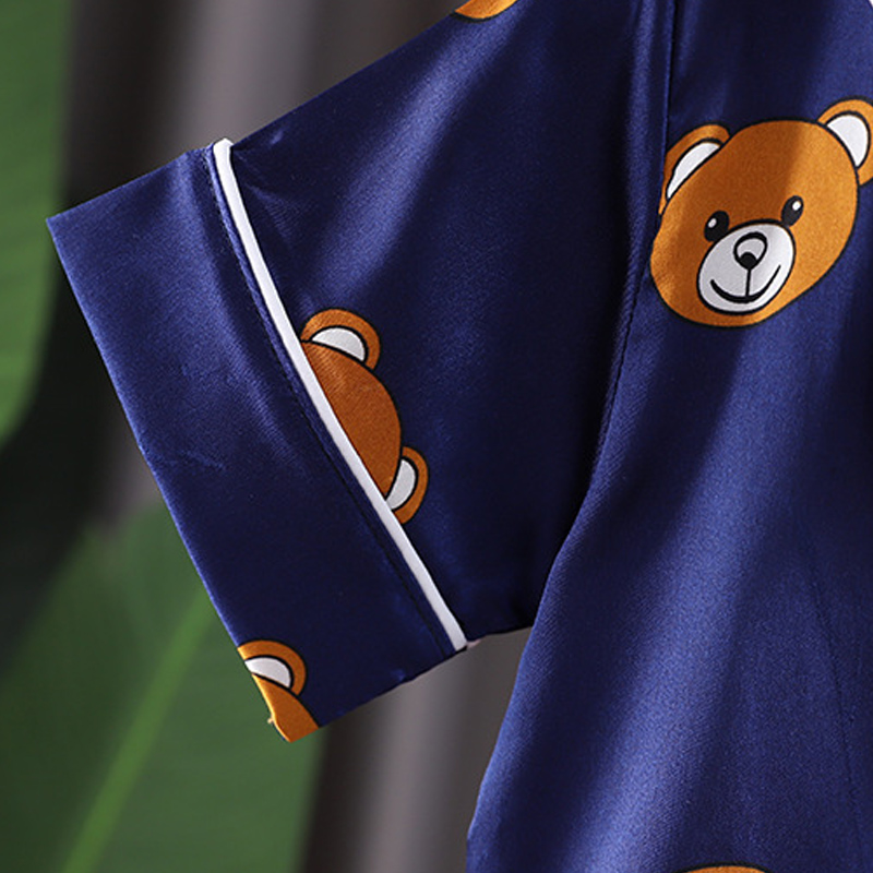 Kids Pajamas Set Toddler Sleepwear New Summer Pijamas For Boys Clothes Baby Girls pajamas Suit Boys Pyjamas Children Clothing 6