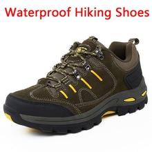 Women trekking boots Waterproof Hiking Shoes Mountain Climbing Shoes Outdoor Hiking Boots Trekking Sport Sneakers Men Hunting недорго, оригинальная цена
