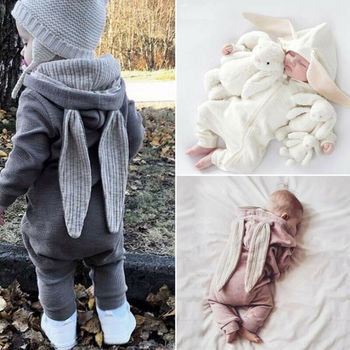 2019 Autumn Winter Newborn Baby Clothes Unisex Christmas Clothes Boys Rompers Kids Costume For Girl Infant Jumpsuit 3 9 12 Month baby boys rompers clothes spring autumn kids long sleeved cartoon tiger cute bear style jumpsuits for 3 12 month