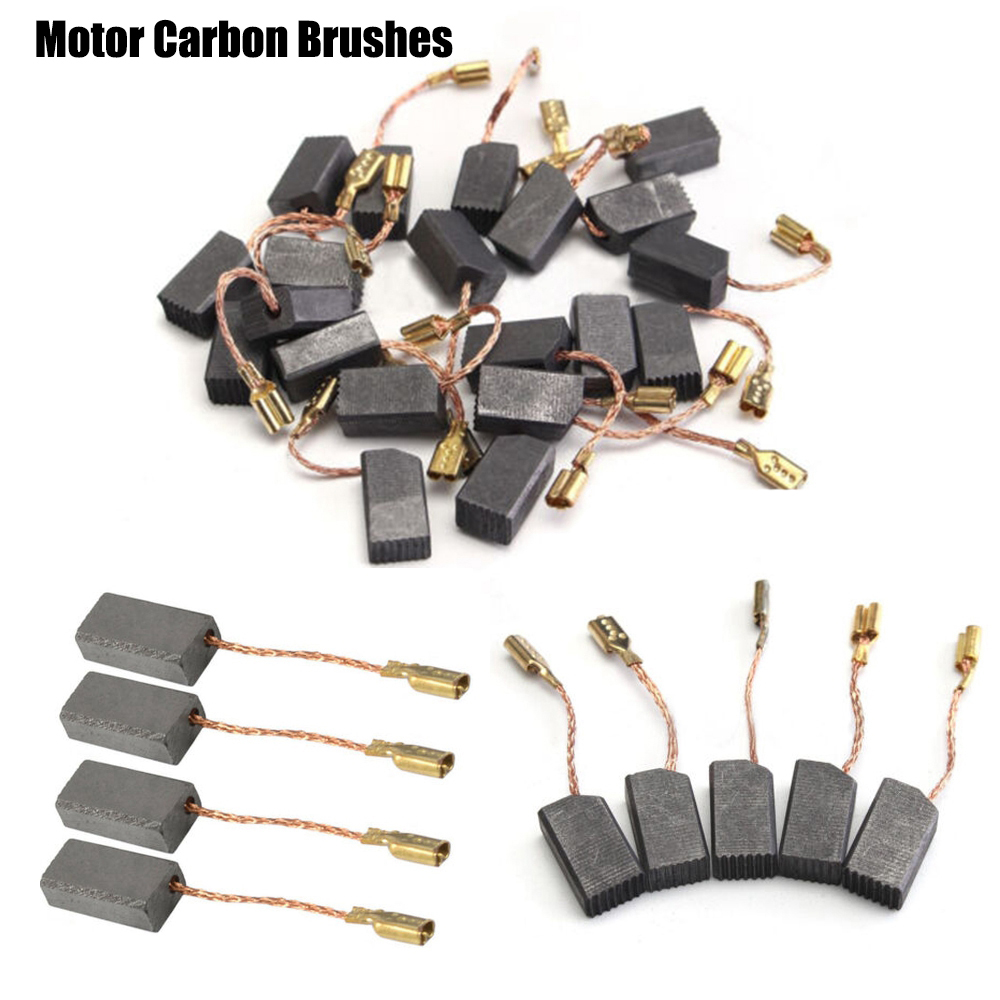 "10 pcs 5//8/"" x 5//16/"" x 5//32/"" Replacement Electric Carbon Brush 16 x 8 x 4mm"