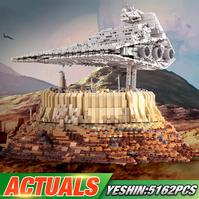 DHL Star Toys Wars The Empire over Jedha City Compatible With Lepining MOC-18916 Building Blocks Brick Kids Christmas Gifts Toys