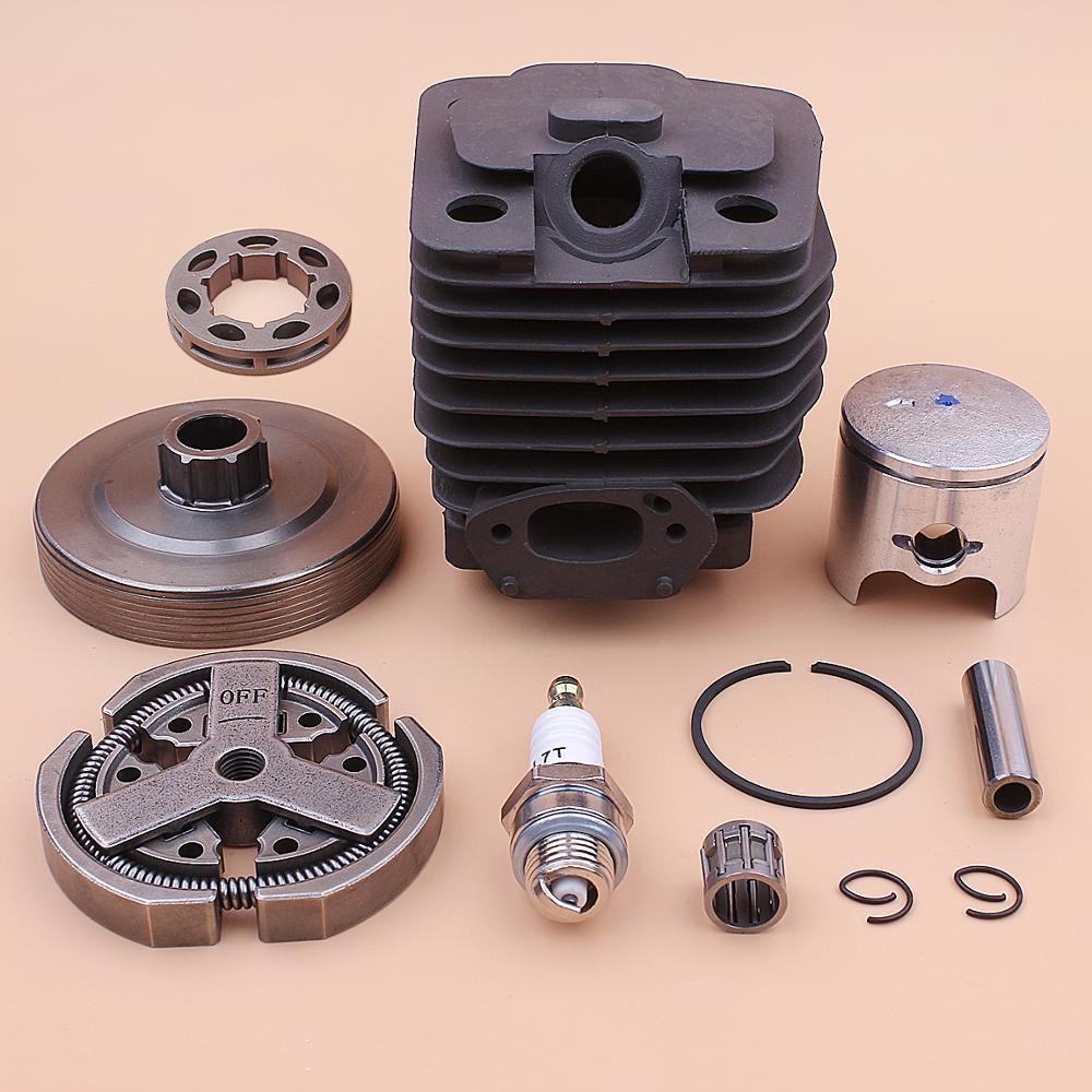 39mm Cylinder Piston Kit For Chinese 3800 38cc Clutch Sprocket Drum Rim Bearing Spark Plug Chainsaw Part