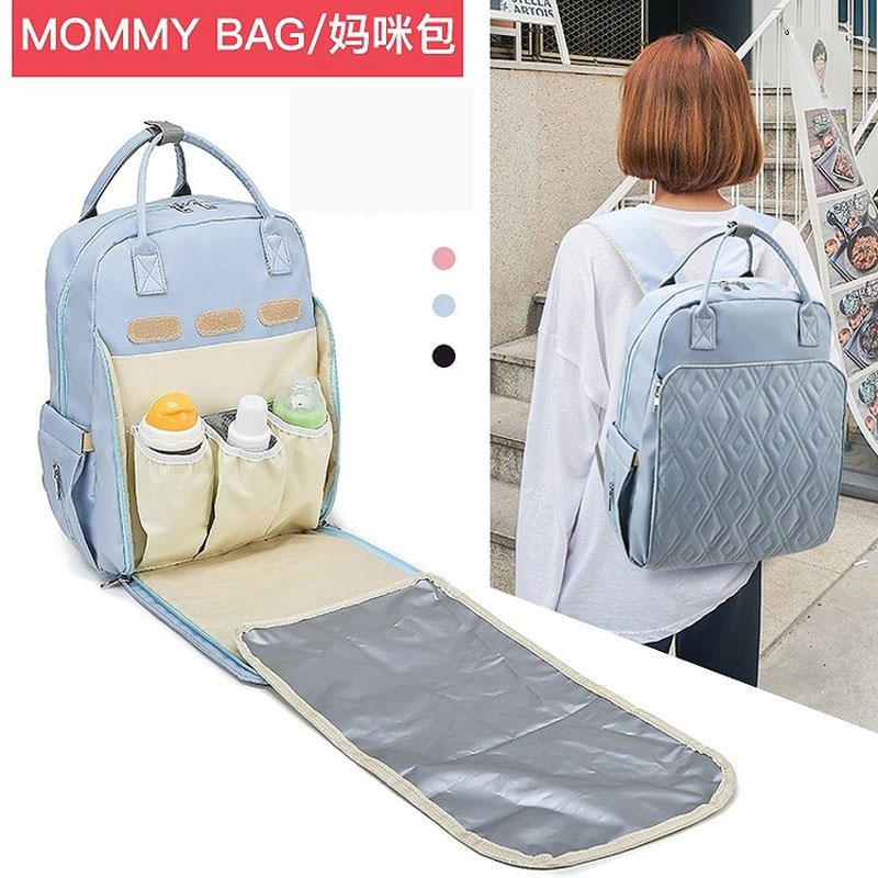Waterproof Maternity Bag Baby Mummy Diaper Bag Baby Bottle Insulation Mother And Baby Out Backpack Baby Stroller Baby Care Bag