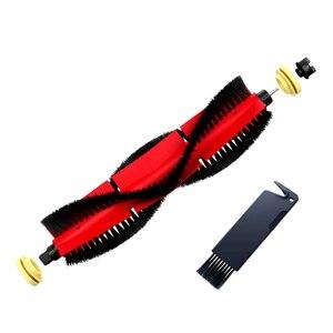 Image 2 - 2020 Roborock S6 S50 S5MAX S6Max V,S4/E4 Original Spare Kits Cleaning Brushes: 1pc Main brush&2pcs white brush &2pcs Black brush