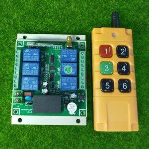 Image 3 - 산업 분야 AC 110V 220V 6CH 10A RF 무선 원격 제어 스위치 시스템 300M 1000M 장거리 송신기