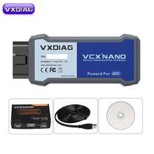 VXDIAG VCX NANO için destek GM Tech2Win ve GDS2 yerine GM için orijinal araç için GM MDI VXDIAG VCX NANO GM için