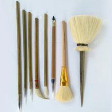 Pędzel do pisania glina polimerowa narzędzia narzędzia garncarskie malowanie malowane hak pióro pyłu Hydration glina ceramiczna polimerowa narzędzie