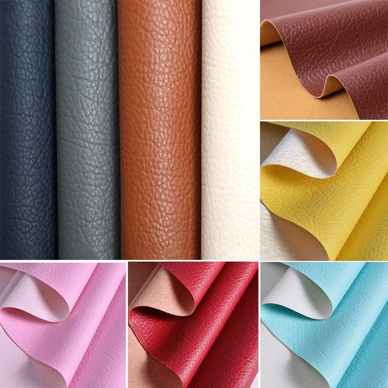 Личи искусственная кожа ткань для шитья бант сумка Броши диван автомобиль сделай сам материал радиада 50X120 см простыни