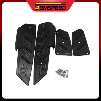 Motorcycle CNC footrest Aluminum mats plate pedals For Honda MF13 Forza 300 Forza 250 Forza 125 2017-2020 Modified 오토바이용품 포르자300 фото